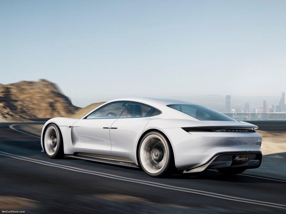 Porsche Mission-E Concept Concept cars 2015 wallpaper