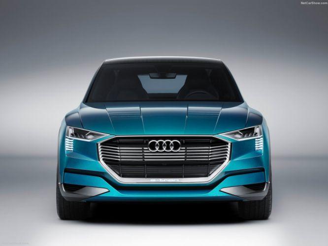 Audi e-tron quattro Concept cars 2015 wallpaper