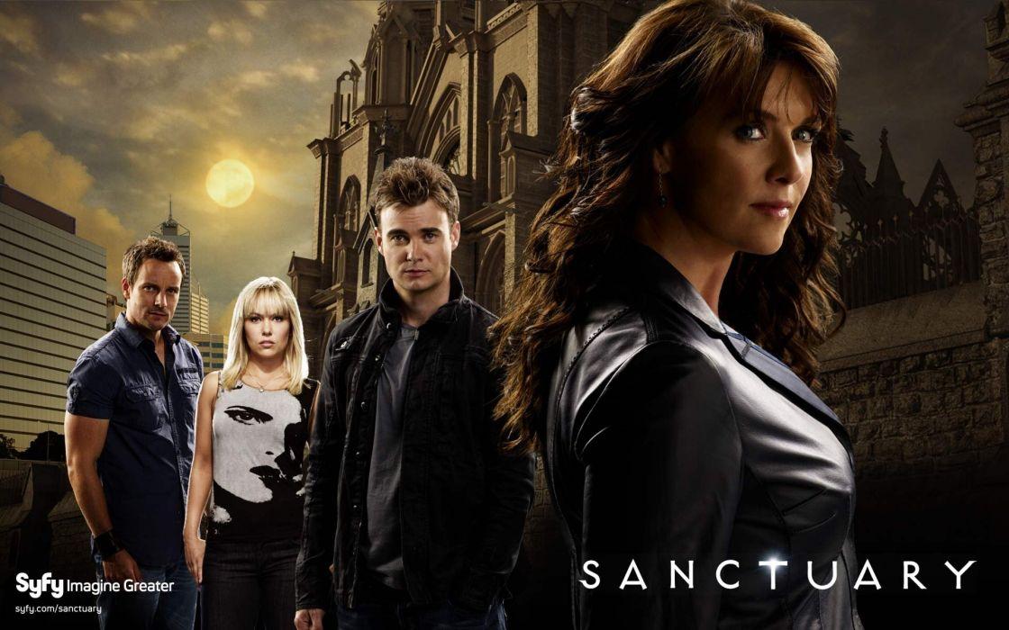 serie tv sanctuary ciencia ficcion wallpaper