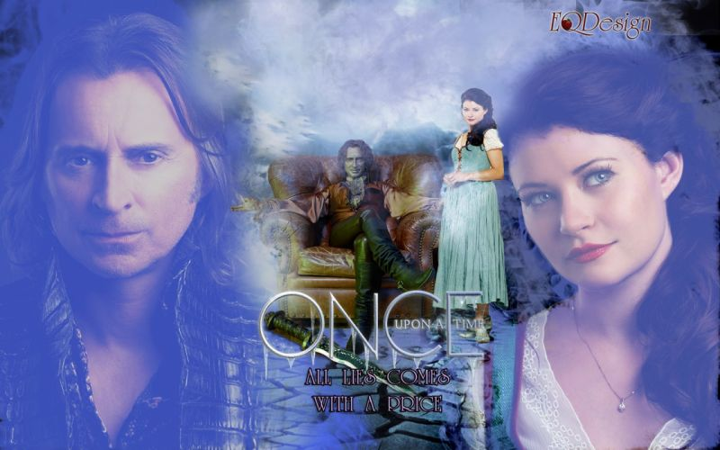 ONCE-UPON-A-TIME fantasy drama mystery once upon time adventure series disney poster wallpaper