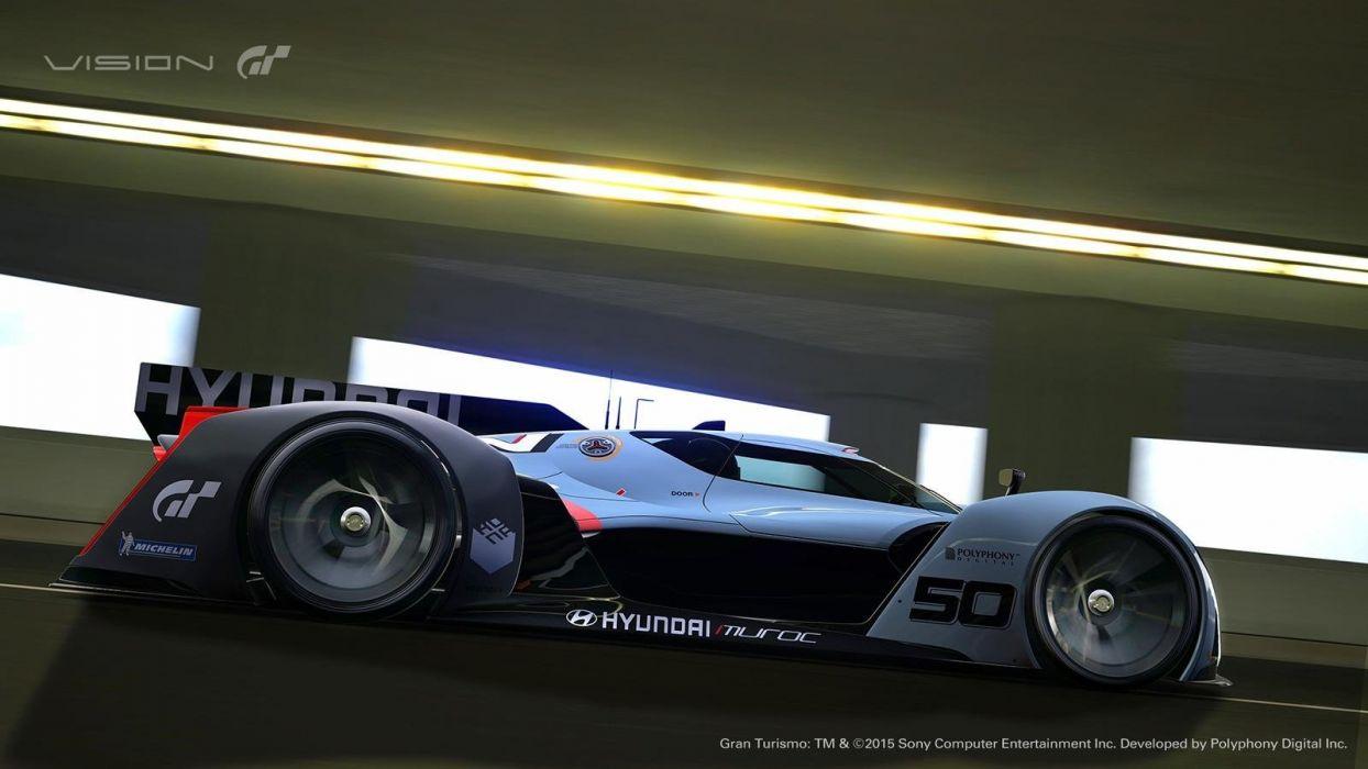 Hyundai N-2025 Vision Gran Turismo concept cars vidA wallpaper