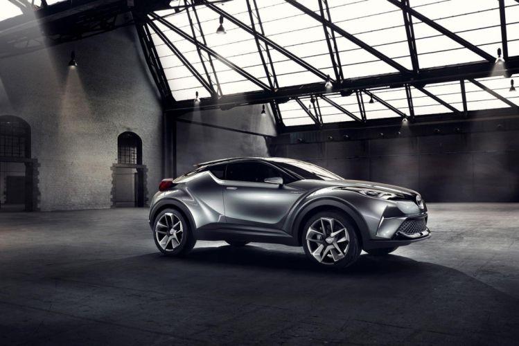 Toyota C-HR hybrid concept cars 2016 wallpaper