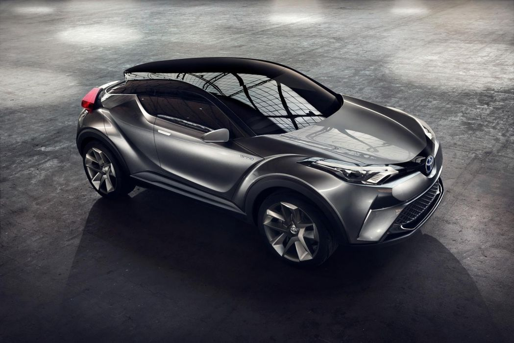 Toyota C-HR hybrid concept cars 2016 wallpaper