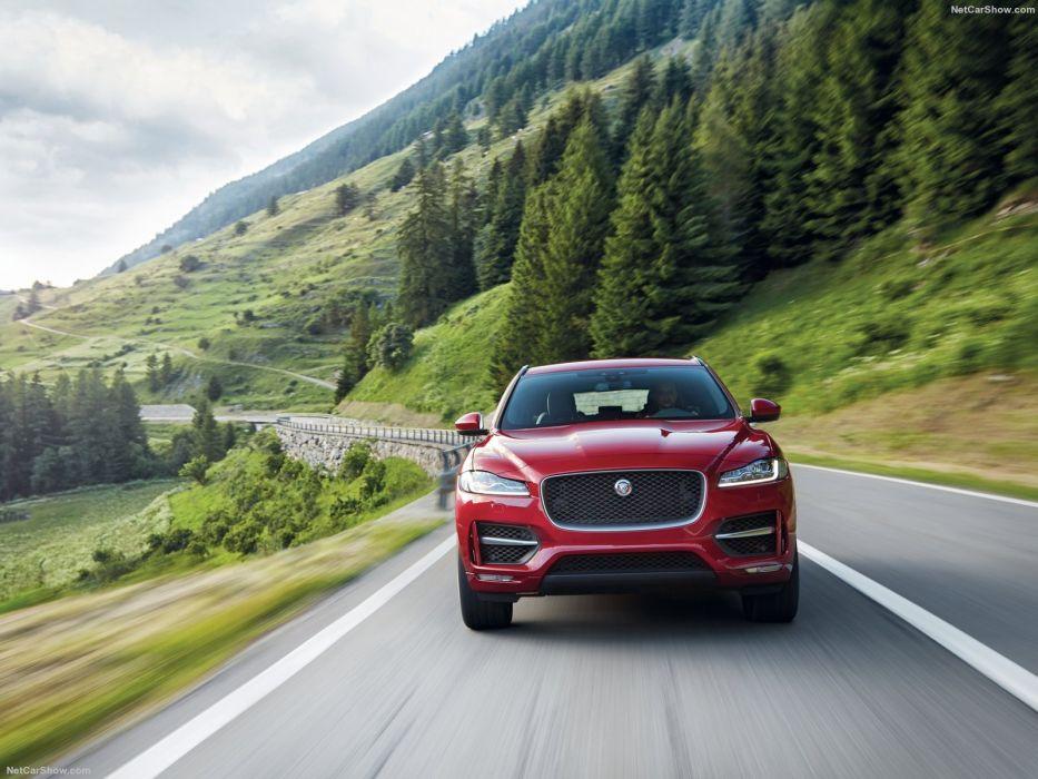 Jaguar F-Pace cars suv 2016 wallpaper