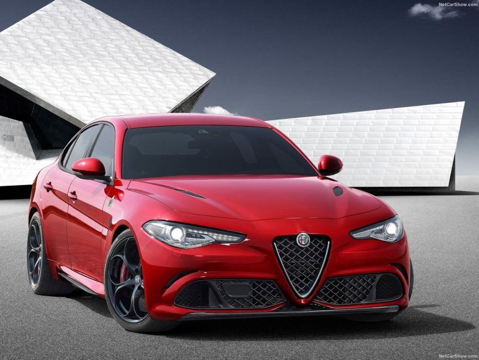 Alfa Romeo Giulia sedan cars 2016 wallpaper