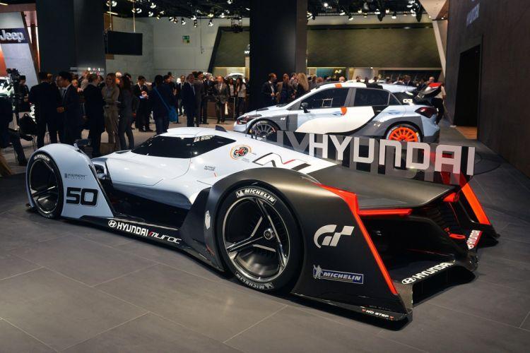 cars Concept Gran hyundai N-2025 Turismo vida vision wallpaper