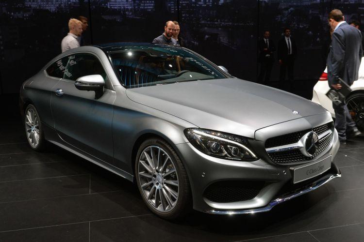 2016 Mercedes-Benz C-Class Coupe cars wallpaper