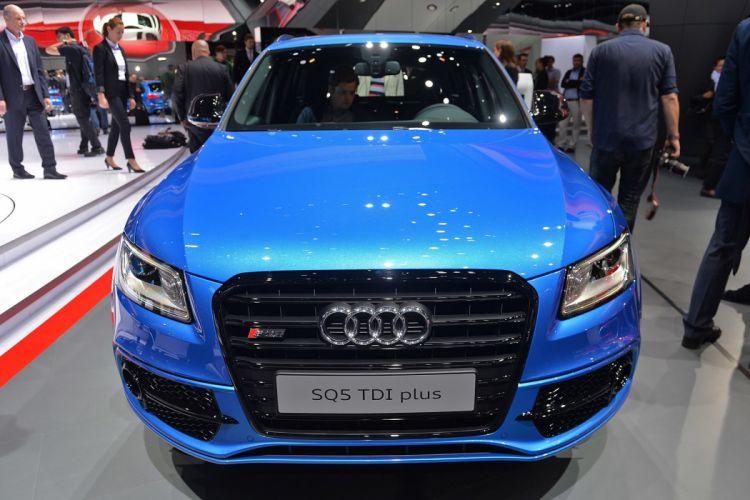 2016 Audi bleue Blue cars plus sq5 suv tdi wallpaper