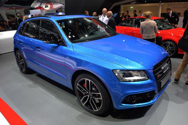 2016 Audi bleue Blue cars plus sq5 suv tdi wallpaper