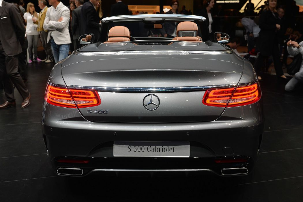 2016 Mercedes S-500 Cabriolet cars wallpaper