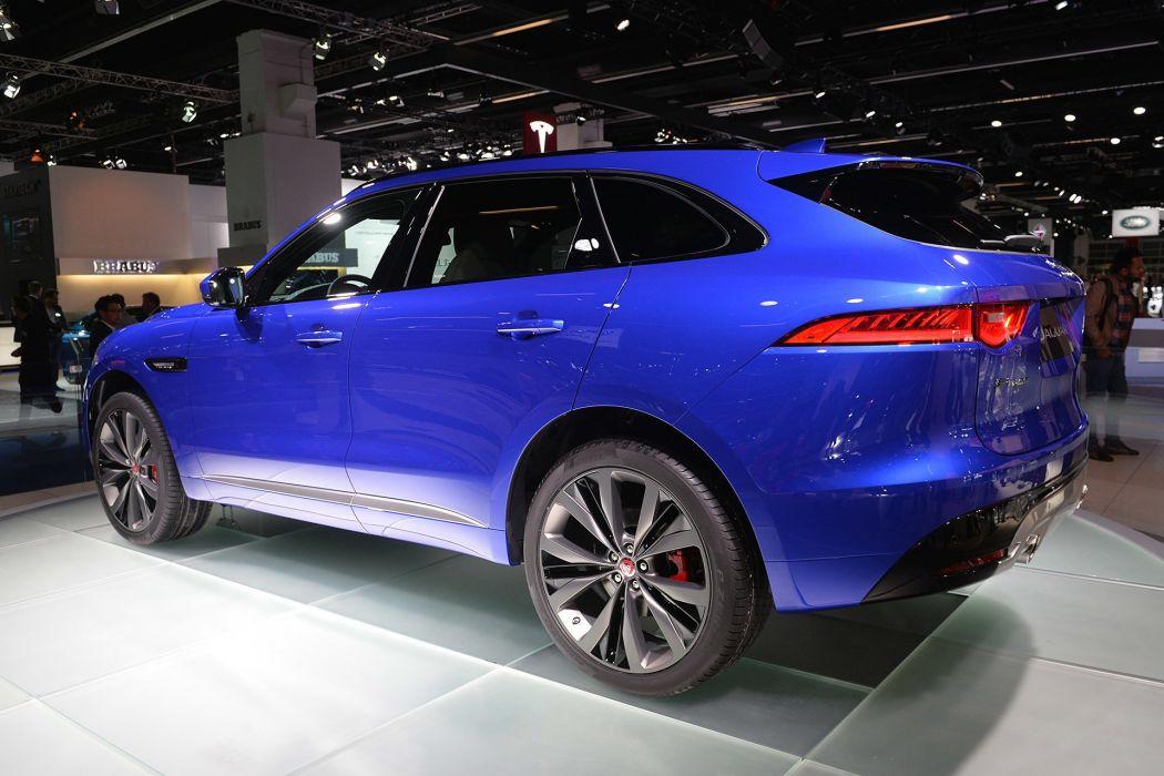 2016 cars F-Pace jaguar suv wallpaper