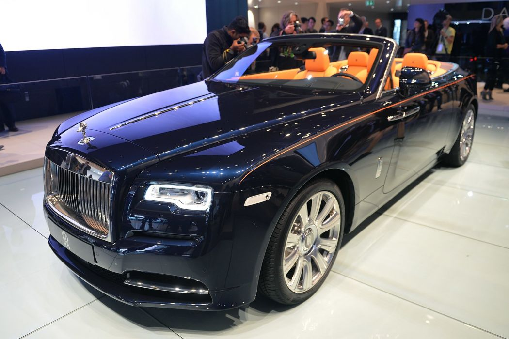 2016 Rolls-Royce Dawn convertible cars luxury wallpaper