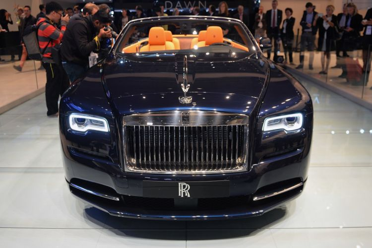2016 Rolls-Royce Dawn convertible cars luxury wallpaper