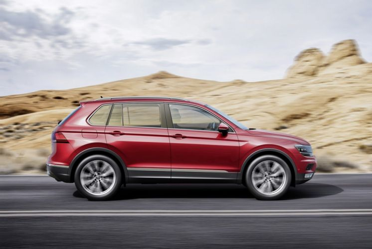 Volkswagen Tiguan cars suv 2016 wallpaper