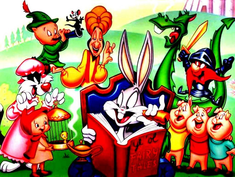 LOONEY TUNES humor funny cartoon family Merrie Melodies wallpaper
