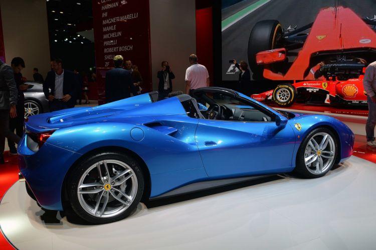 2015 488 cars Ferrari spider wallpaper