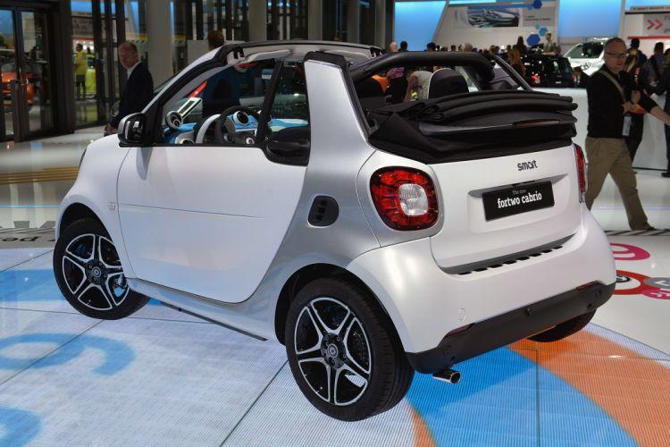 2016 Smart Fortwo Cabrio cars wallpaper