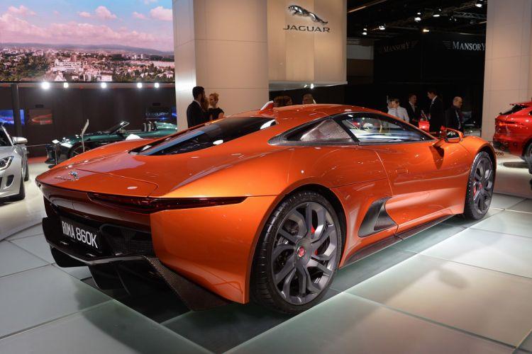 Jaguar C-X75 Land Rover reveals Bond superccars cars movies wallpaper