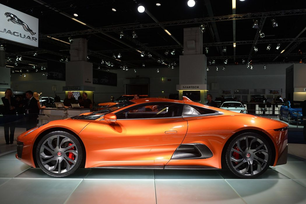 Jaguar C-X75 Land Rover reveals Bond superccars cars movies wallpaper