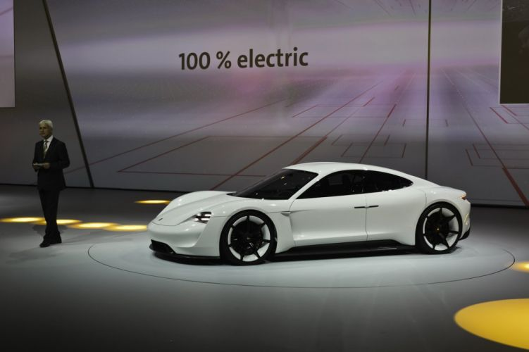 2015 cars Concept Mission-E Porsche wallpaper