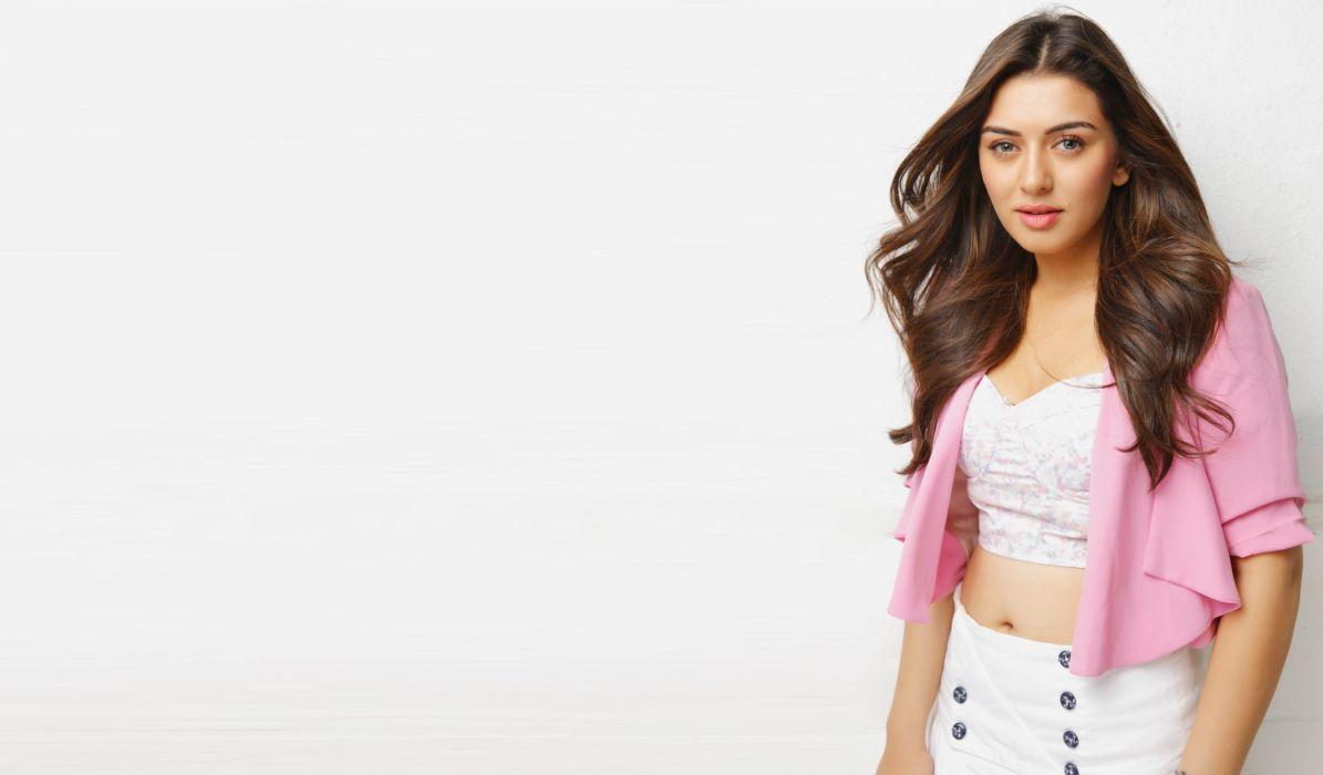 hansika motwani bollywood actress model girl beautiful brunette pretty cute beauty sexy hot pose face eyes hair lips smile figure indian  wallpaper