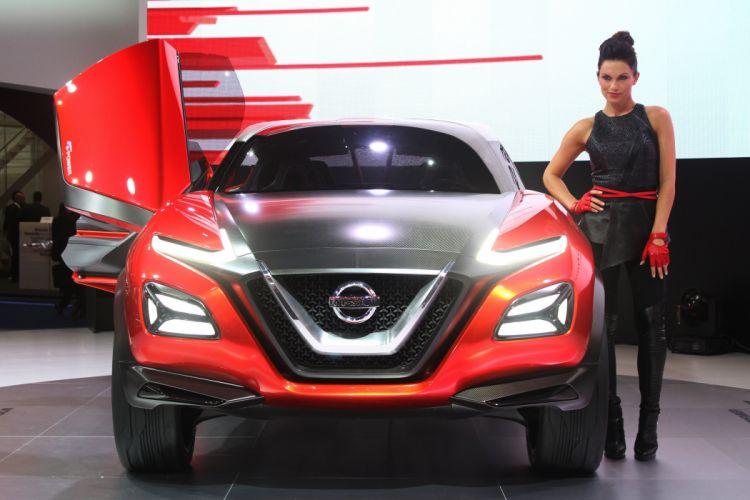 2016 cars Concept Gripz interior Nissan wallpaper