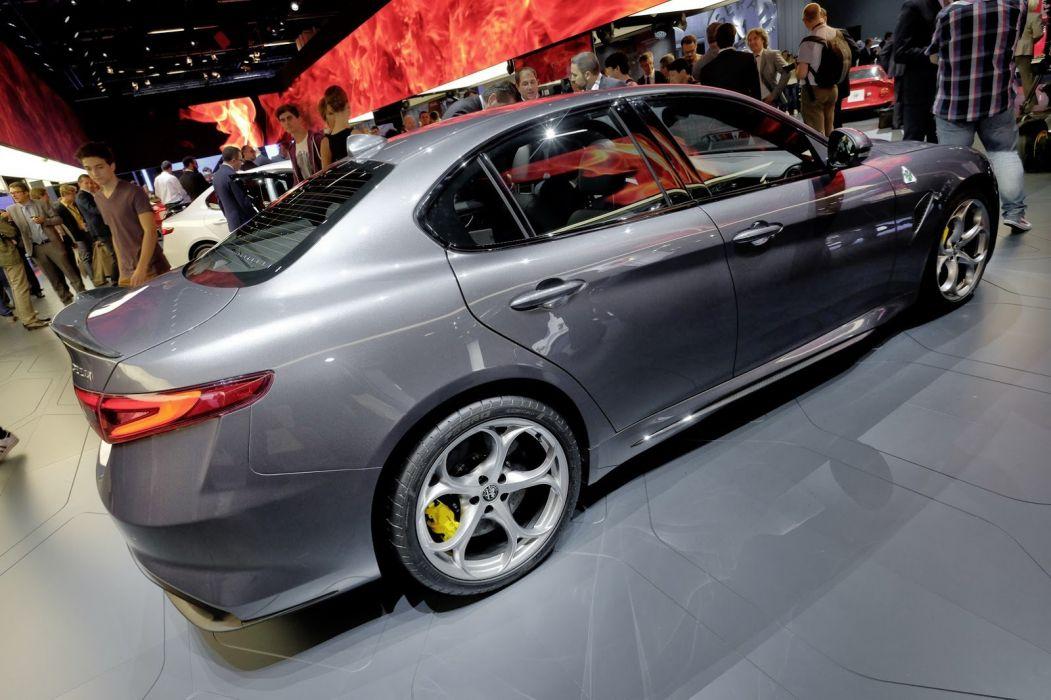 2016 alfa cars giulia romeo sedan wallpaper