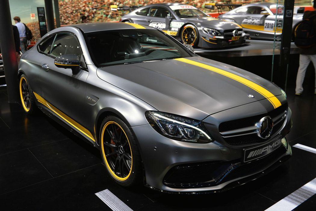 2016 amg C-class cars Coupe dtm Mercedes wallpaper