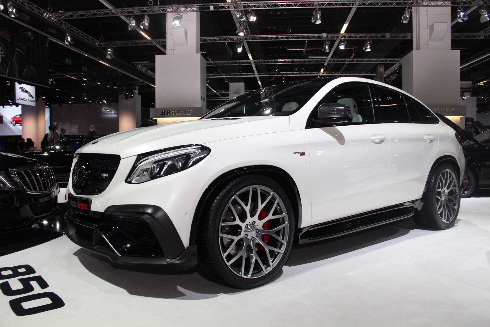 BRABUS Mercedes-Benz GLE 63 Coupe with 850HP