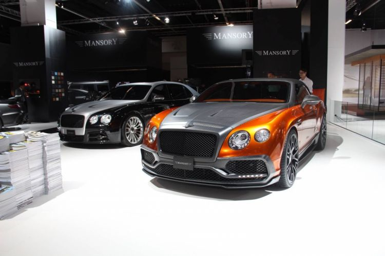 Mansory Bentley Continental GTC cars 2015 wallpaper