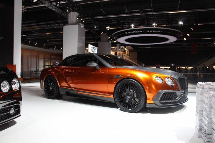 Mansory Bentley Continental GTC cars 2015 wallpaper