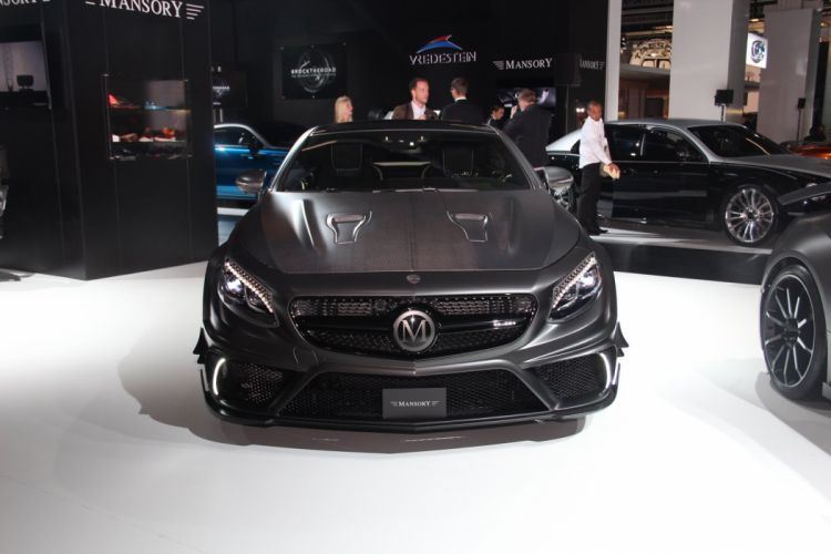 Mansory mercedes S63 AMG Coupe cars 2015 wallpaper
