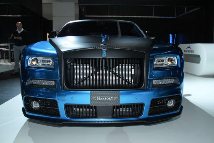 Mansory Rolls-Royce Wraith cars 2015 wallpaper