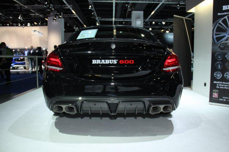 Brabus Mercedes AMG C63 600 cars 2015 wallpaper