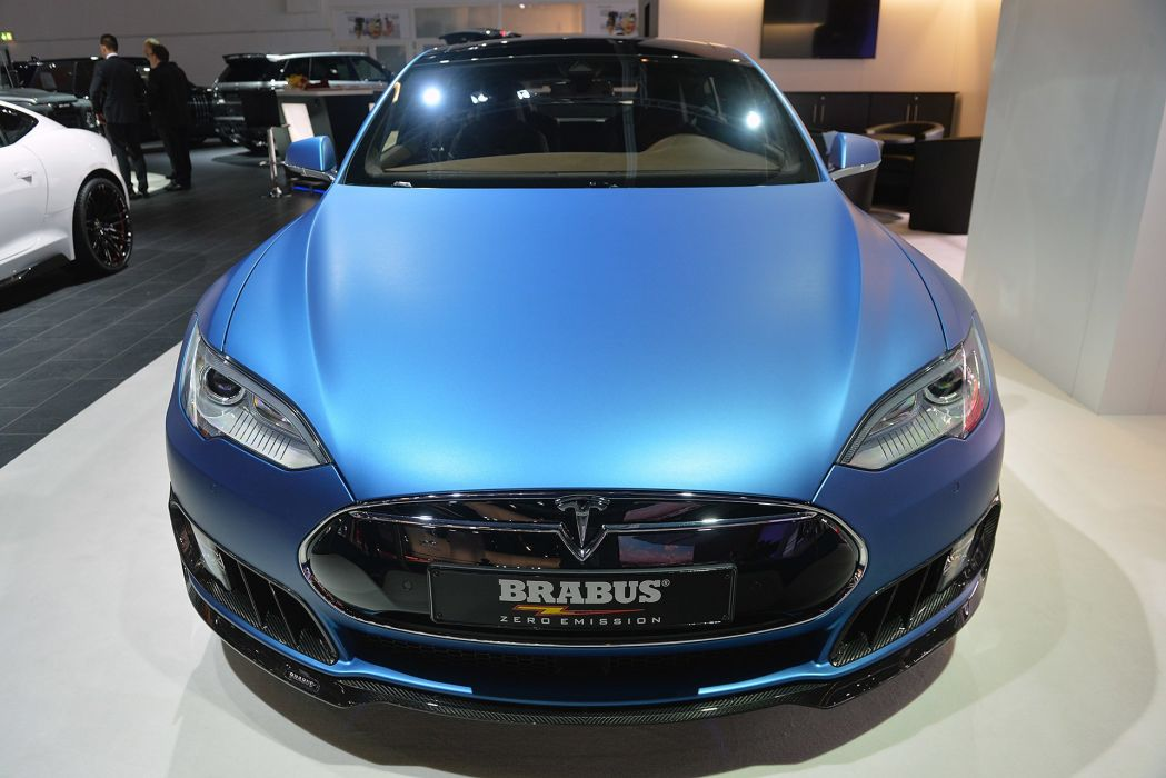 Brabus Zero Emission tesla cars electric 2015 wallpaper