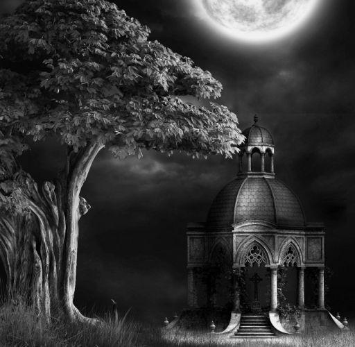 DARK evil horror spooky creepy wallpaper