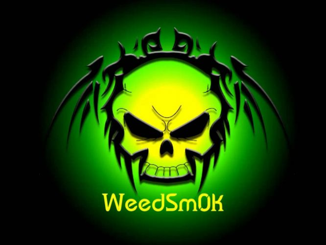 DARK evil horror spooky creepy scary skull 420 marijuana weed drugs wallpaper