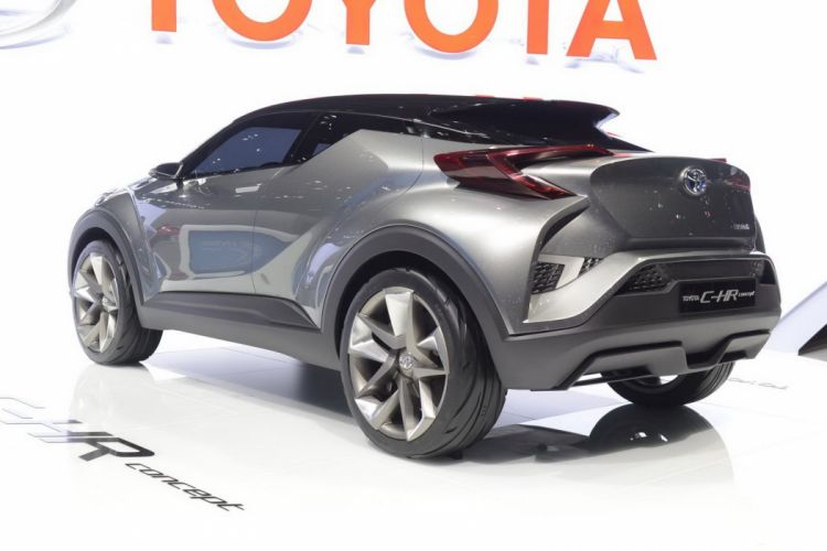 2016 C-HR cars Concept hybrid toyota wallpaper