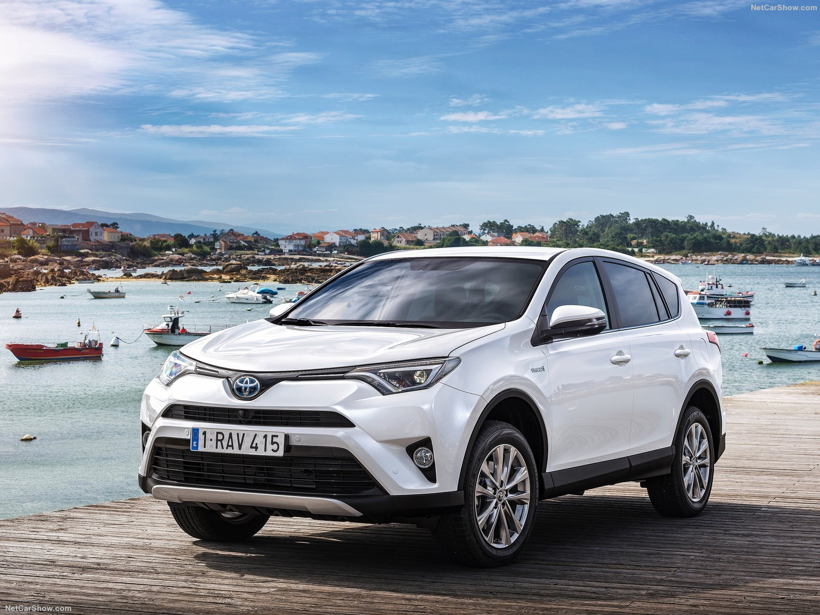 Toyota Hybrid Suv 2017 >> Toyota RAV4 Hybrid EU-Version cars suv white 2016 ...