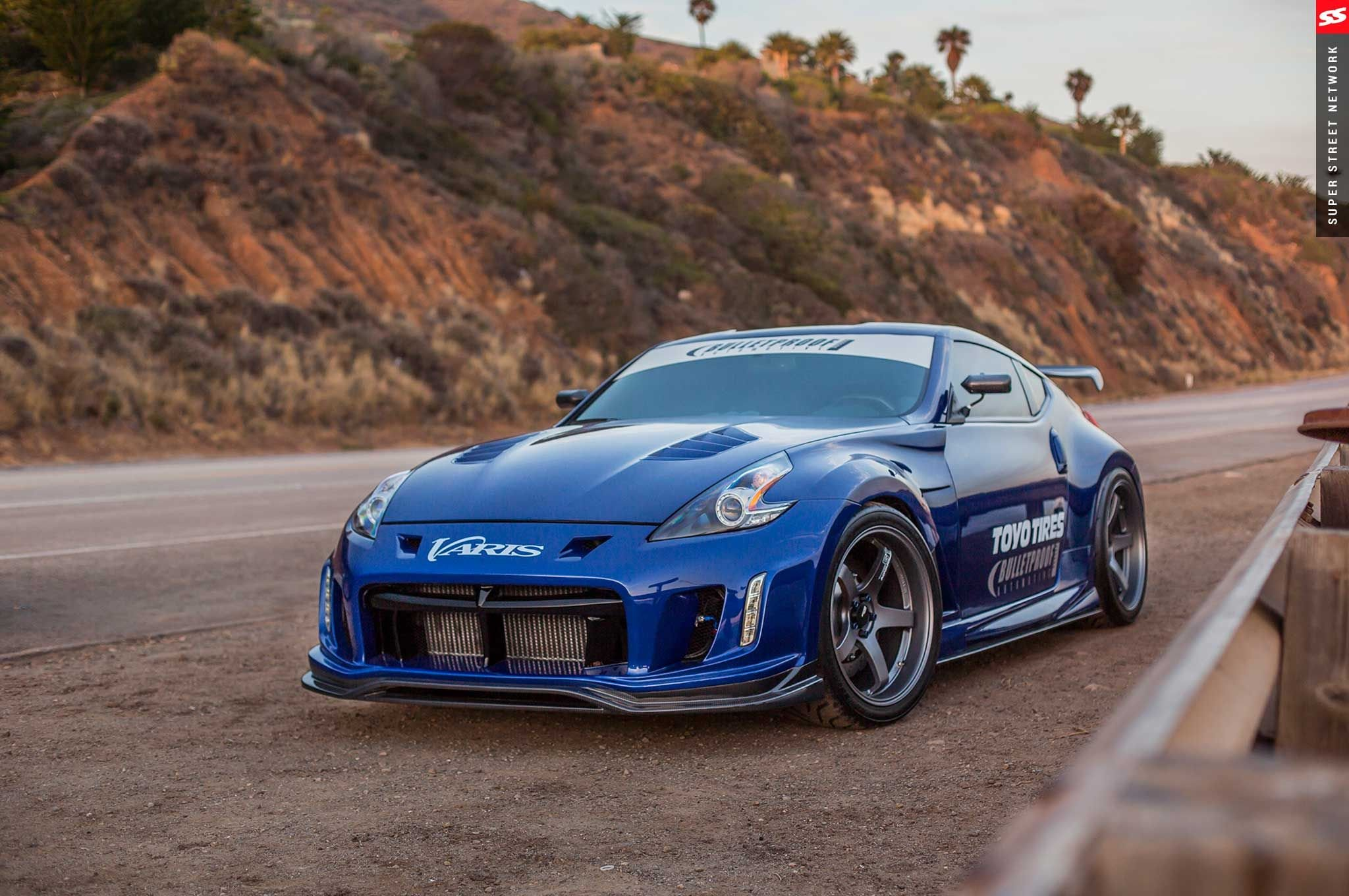 2009 nissan 370z coupe blue cars modified wallpaper 2048x1360 805050 wallpaperup. Black Bedroom Furniture Sets. Home Design Ideas