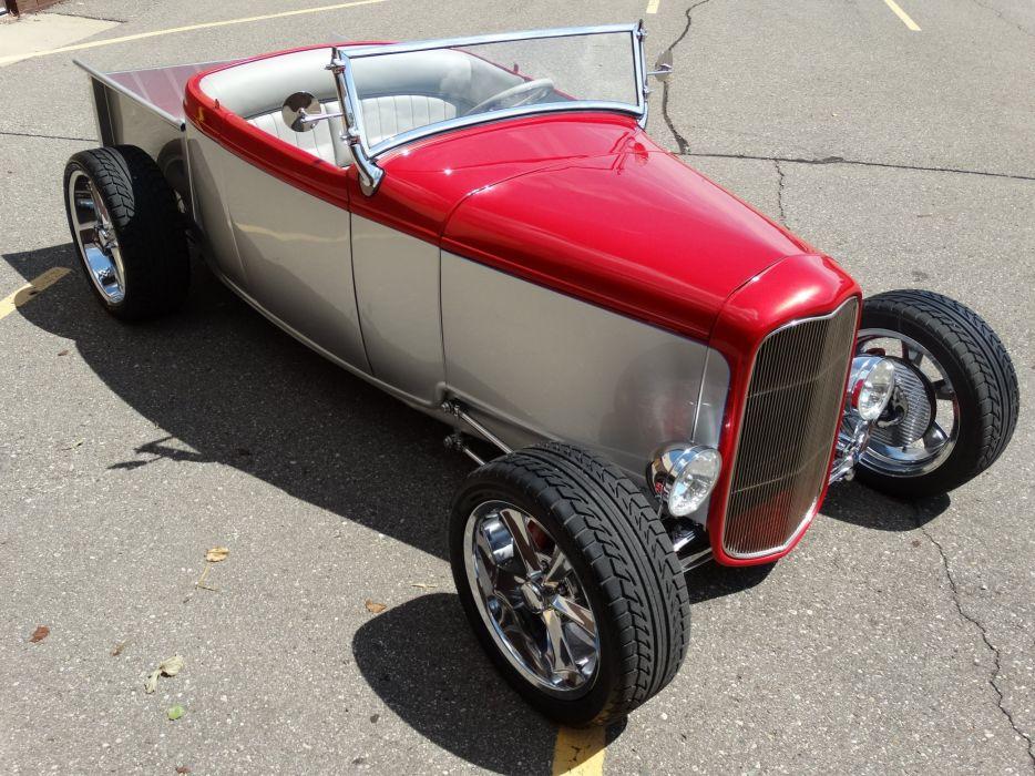 1932 Ford Model-A cars custom hot rod wallpaper
