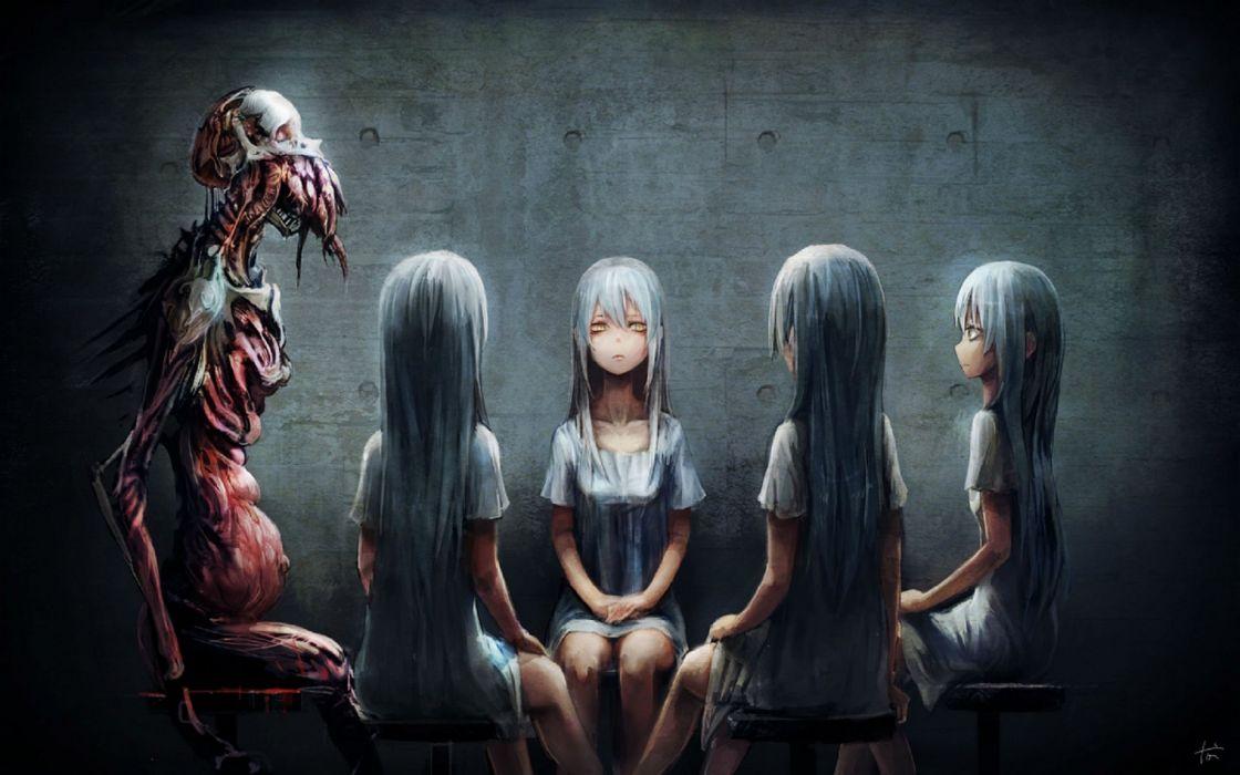 DARK evil horror spooky creepy scary
