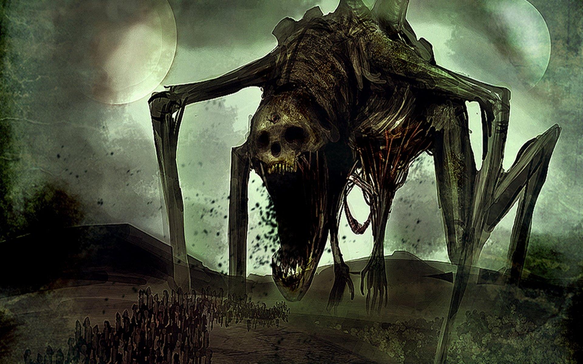 DARK evil horror spook...