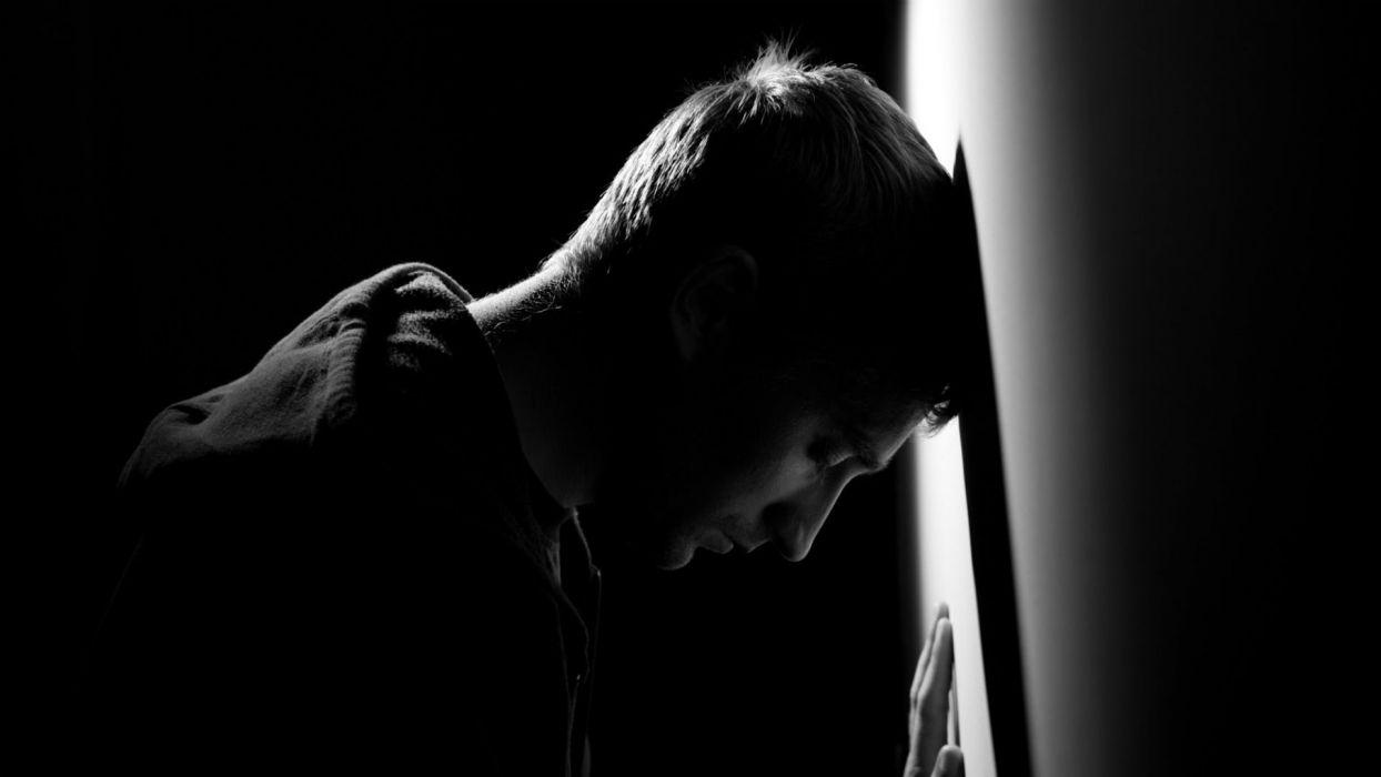 Depression Sad Mood Sorrow Dark People Wallpaper 1920x1080