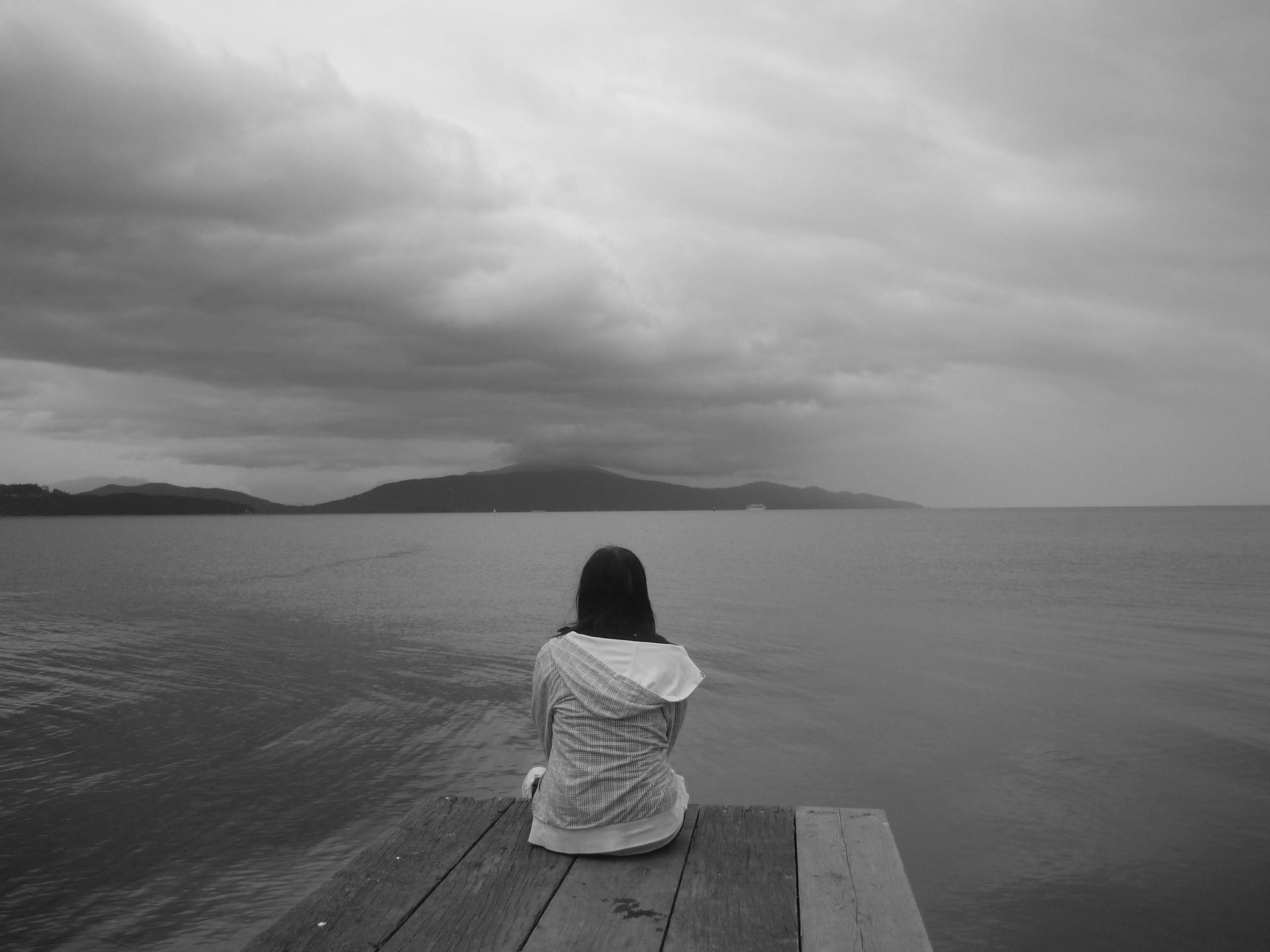 Depression sad mood sorrow dark people wallpaper ...