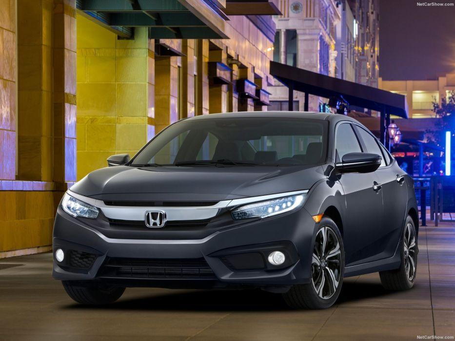 Honda Civic Sedan cars 2016 wallpaper