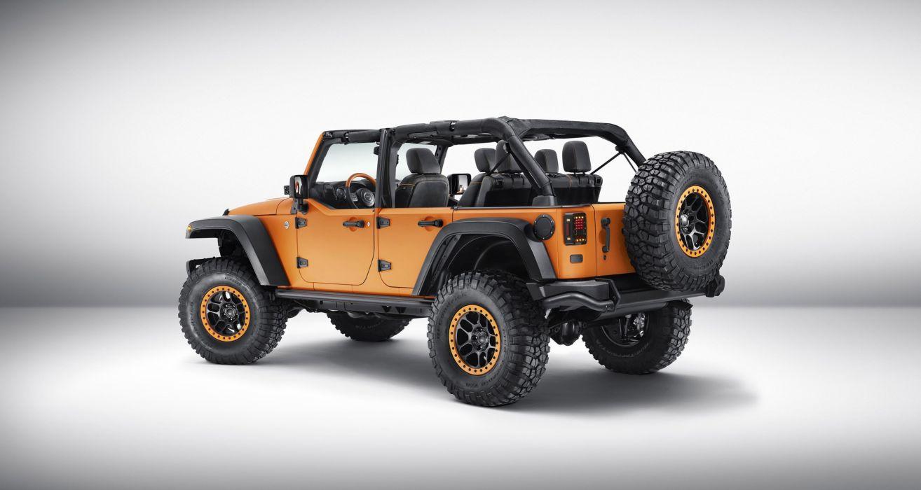 2015 Mopar Jeep Wrangler Rubicon Sunriser 4x4 cars wallpaper