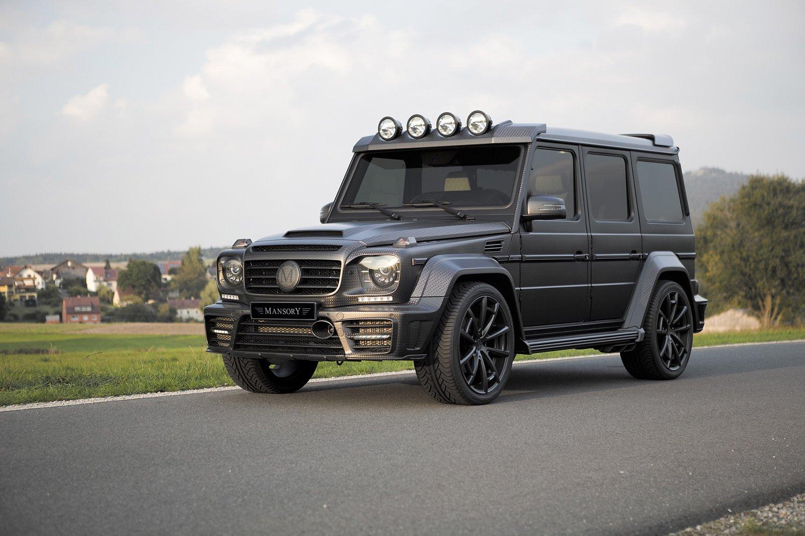 mansory mercedes g63 amg gronos black edition cars 4x4. Black Bedroom Furniture Sets. Home Design Ideas