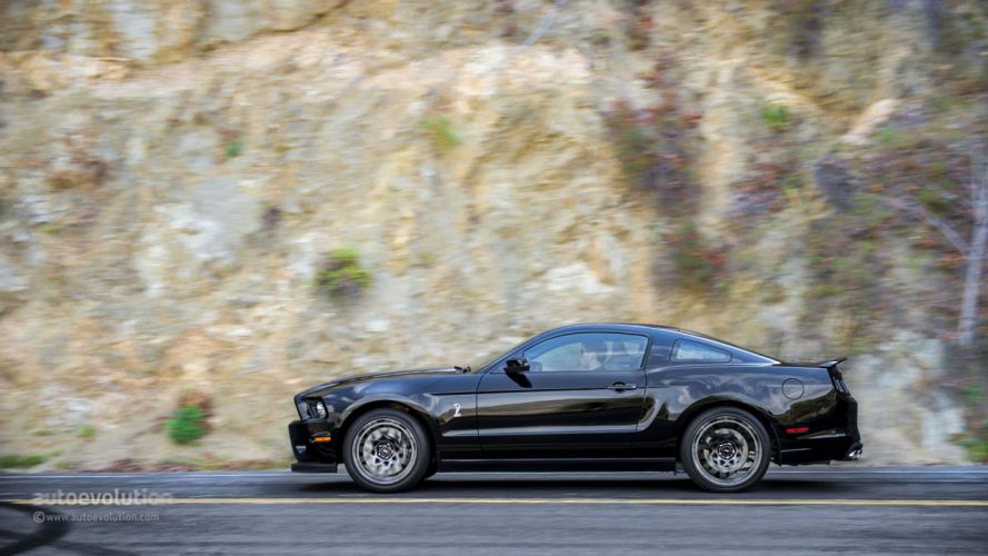 2014 Ford Mustang Shelby GT500 coupe cars wallpaper