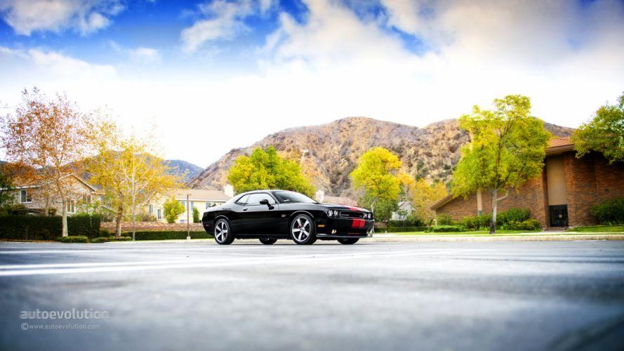 2014 DODGE Challenger SRT8 392 HEMI coupe cars wallpaper